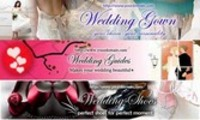 Thumbnail Wedding Website Banner (3in1,3PSD+3JPG,750x150,Hi-res)